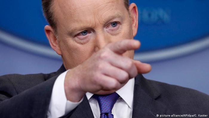 Sean Spicer (picture-alliance/AP/dpa/C. Kaster)