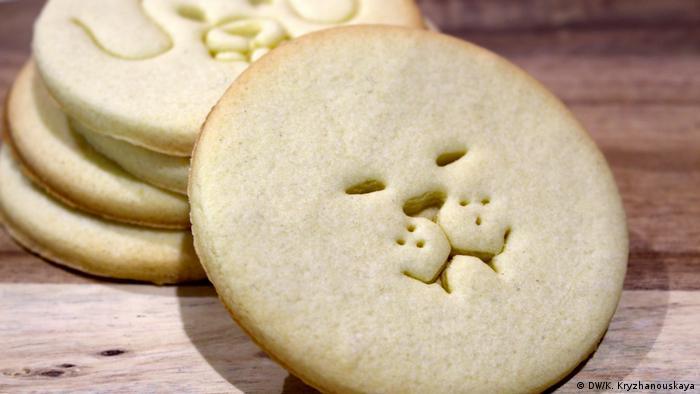Печенье с мордочками животных