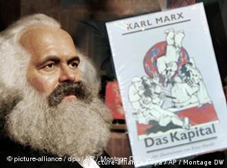 Voštana figura Karla Marxa u jednom muzeju u Berlinu