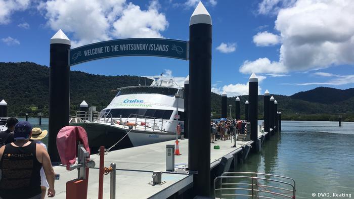 Australien Cruise Whitsundays-Fähre