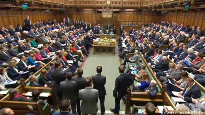 Британский парламент обсуждает закон о выходе из ЕС