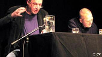Andrzej Stasiuk i tłumacz Olaf Kühl razem prezentowali niemieckim czytelnikom Dojczland