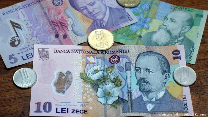 Rumänien - die Landeswährung Leu (picture-alliance/dpa/J. Kalaene)