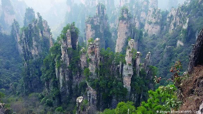 FEATURE:Those 'Avatar' mountains are real, and they're in China (picture-alliance/ANN/G. Cadiz)