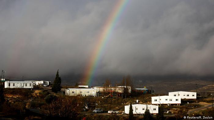 Israel Amona jüdische Siedlung im Westjordan (Reuters/R. Zvulun)