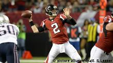 USA New England Patriots gegen Atlanta Falcons | Matt Ryan