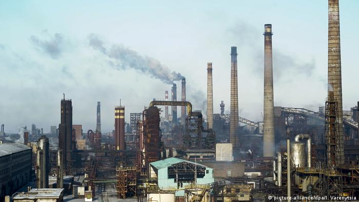 Ukraine Awdijiwka Industrie (picture-alliance/dpa/I. Varenytsia)