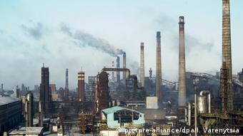 Ukraine Awdijiwka Industrie