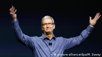 Apple CEO Tim Cook (picture-alliance/dpa/M. Davey)