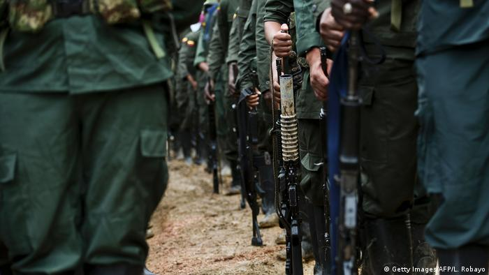 Kolumbien FARC Guerilla (Getty Images/AFP/L. Robayo)