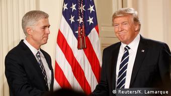 USA Trump Ernennung Neil Gorsuch