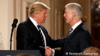 USA Trump Ernennung Neil Gorsuch (Reuters/K. Lamarque)