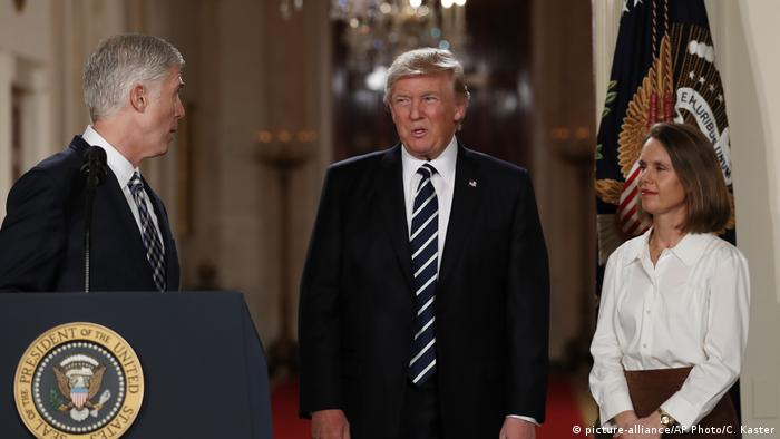 USA Trump Ernennung Neil Gorsuch (picture-alliance/AP Photo/C. Kaster)