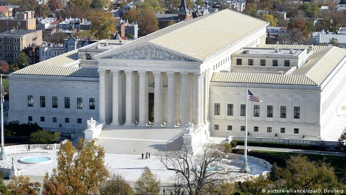 Supreme Court in Washington D.C. (picture-alliance/dpa/O. Douliery)
