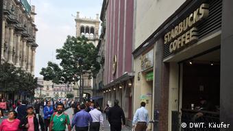 Mexiko Stadt - Starbucks-Filiale