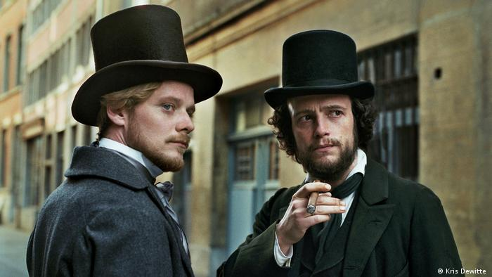 Film still The Young Karl Marx (Kris Dewitte )