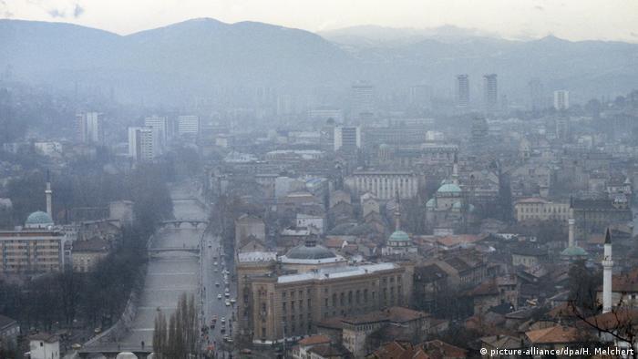Smog over Sarajevo