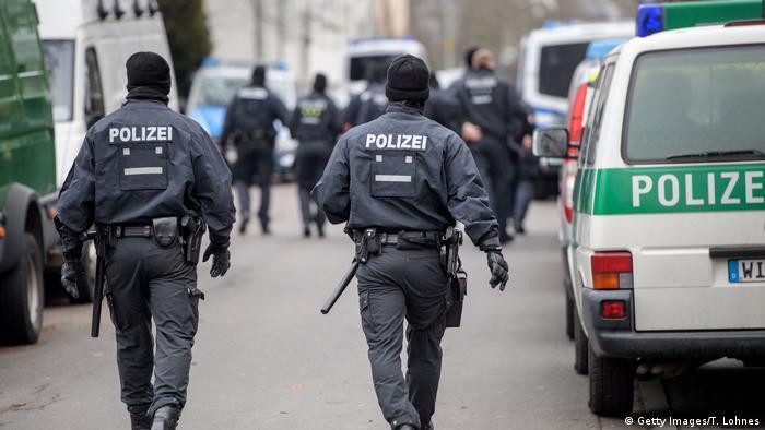 Deutschland Hessen - Durchsuchungen wegen Terrorverdachts
