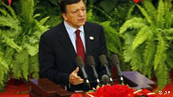 China Asien EU Finanzkrise Treffen in Peking Jose Manuel Barroso
