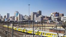 Südafrika Skyline Johannesburg Gauteng