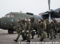Солдати Бундесверу в Литві