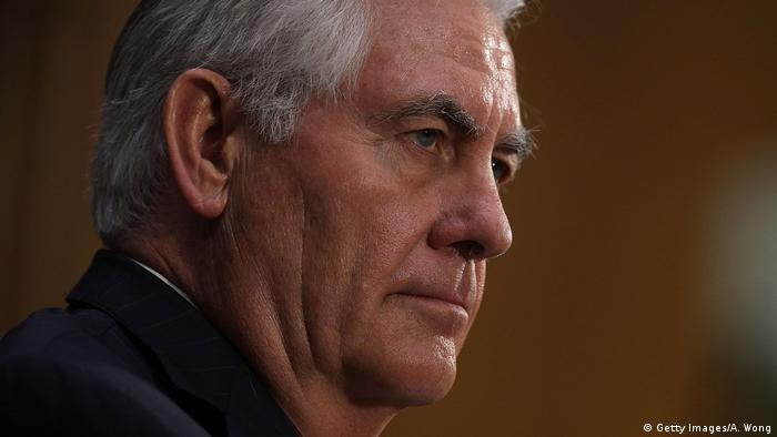 USA Außenminister Rex Tillerson