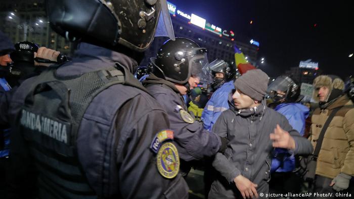 Rumänien Proteste