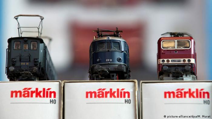Модели локомотивов Märklin