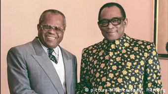 Étienne Tshisekedi und Mobutu Sese Seko