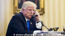 USA Präsident Donald Trump Telefonat mit Australiens Premierminister Malcolm Turnbull