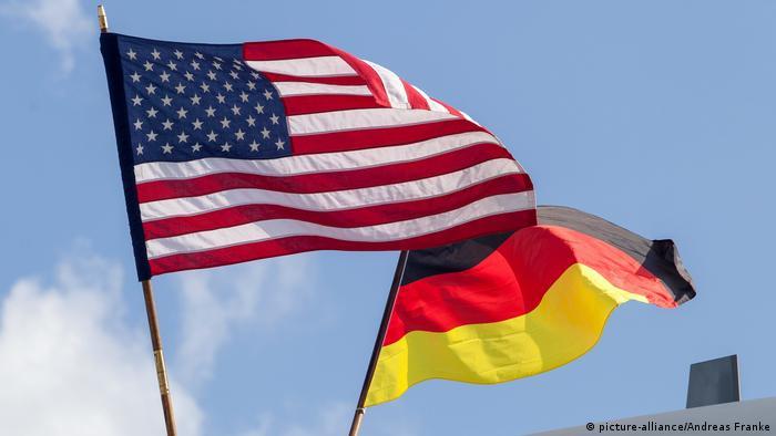 Symbolbild Deutschland - USA