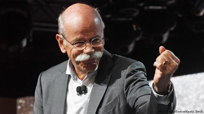 Daimler head Dieter Zetsche