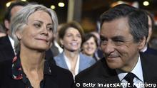 Frankreich François Fillon & Ehefrau Penelope | konservativer Präsidentschaftskandidat
