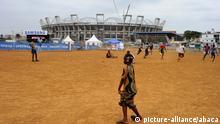 Gabon- African Cup of Nations - Stimmung außerhalb des Stadiums