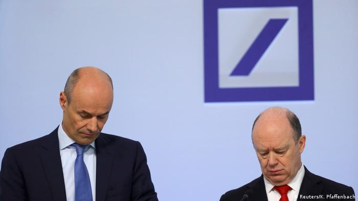 Deutschland Deutsche Bank - Jahreszahlen 2016