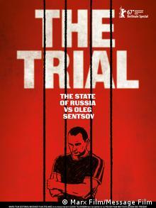 Plakatt des Filmes Der Prozess vom russischen Regisseur Askold Kurov