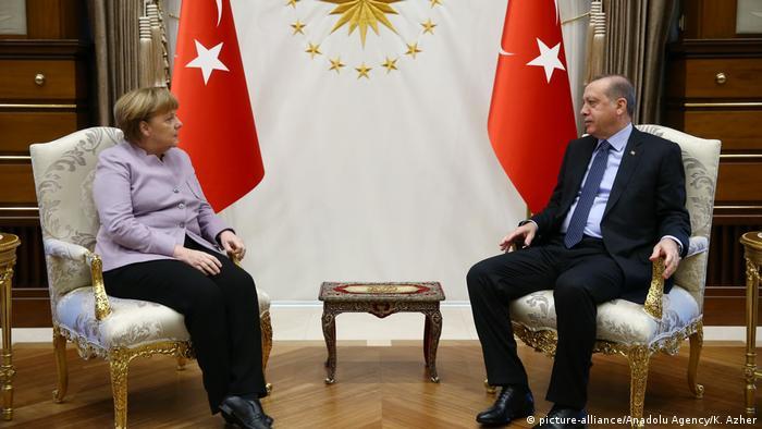 Türkei Treffen Angela Merkel & Recep Tayyip Erdogan