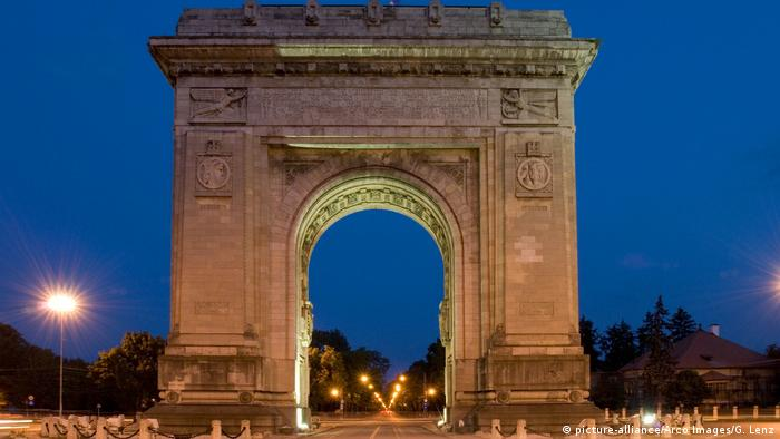 Arcul de Triumf - Bucuresti (picture-alliance/Arco Images/G. Lenz)