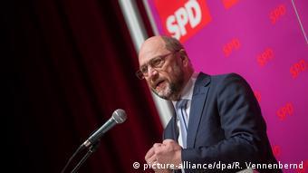 Deutschland Martin Schulz in Herne