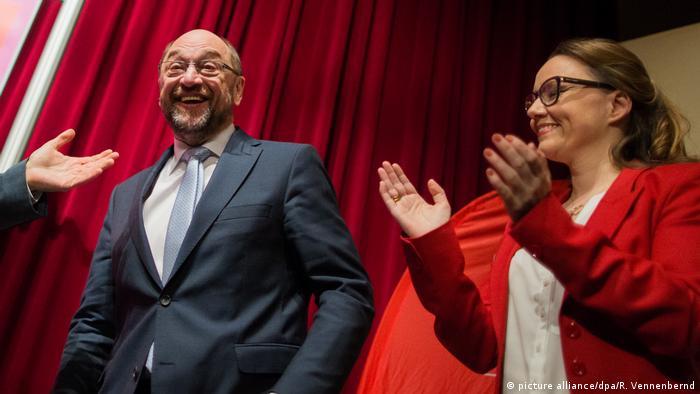 Deutschland Martin Schulz in Herne (picture alliance/dpa/R. Vennenbernd)
