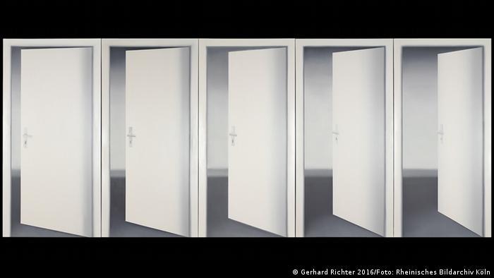 Gemälde Fünf Türen von Gerhard Richter aus dem Museum Ludwig in Köln (Foto: Rheinisches Bildarchiv Köln)