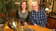 Deutschland Sarah Willis und John Adam in Berlin