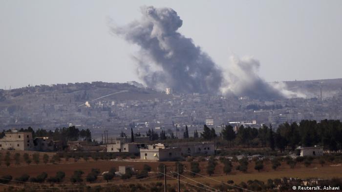 Syrien Gefechte um al-Bab (Reuters/K. Ashawi)