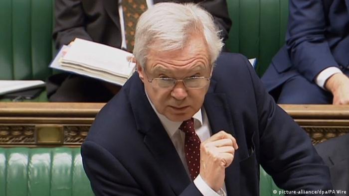 Brexit-Minister David Davis (picture-alliance/dpa/PA Wire)