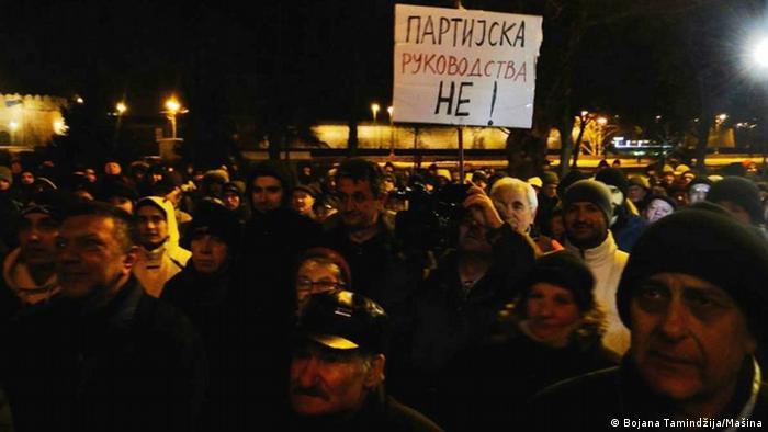 Serbien Proteste Niš