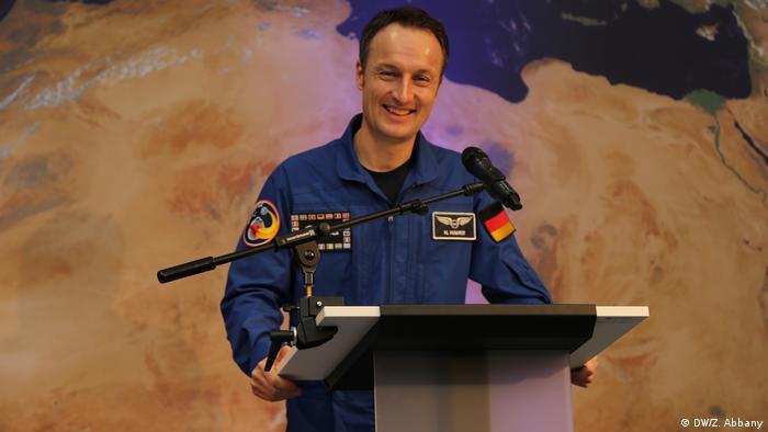Deutschland ESOC in Darmstadt - Astronaut Matthias Maurer