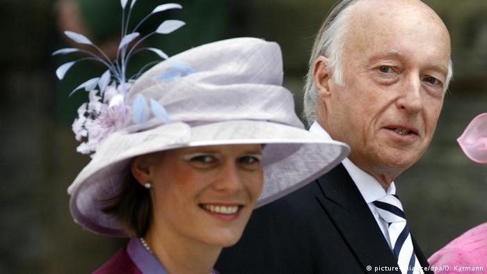 Принц Карл Эмих Лейнингенский (Николай III) с супругой Изабеллой