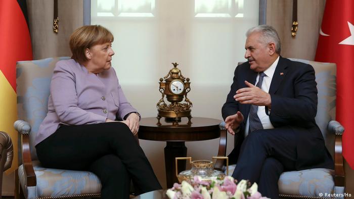 Türkei Angela Merkel - Binali Yildirim (Reuters/Ho)