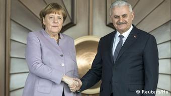 Türkei Angela Merkel - Binali Yildirim