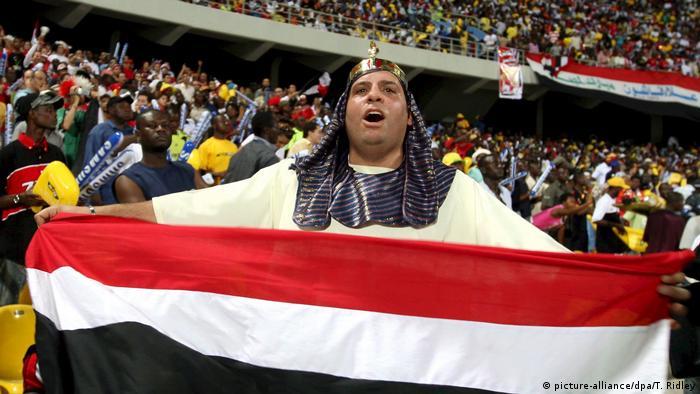 Afrika Cup - Finale - Kamerun - Ägypten 0:1 2008 (picture-alliance/dpa/T. Ridley)